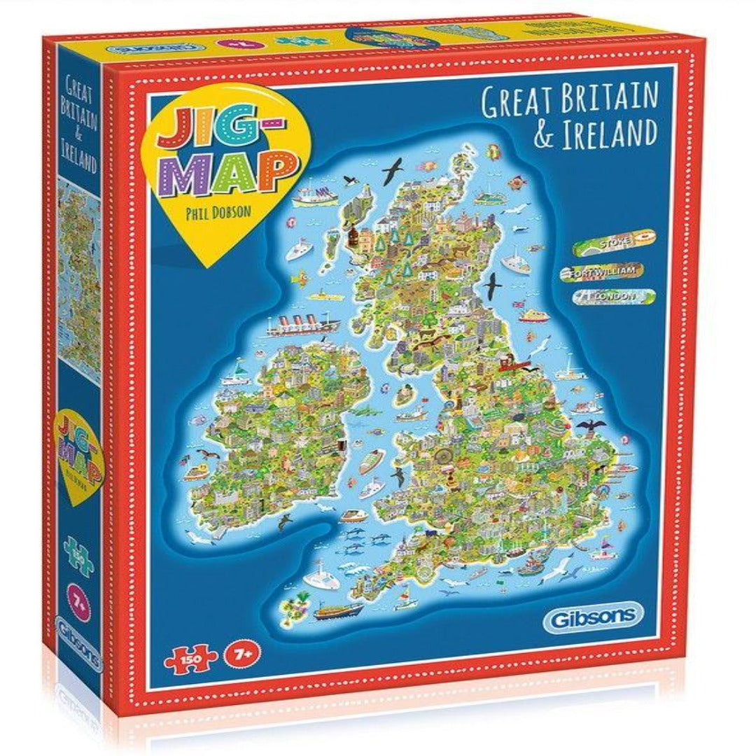 Great Britain and Ireland (150 pieces)