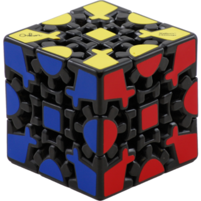 Meffert's Puzzle: Gear Cube Difficulty Level 8/10