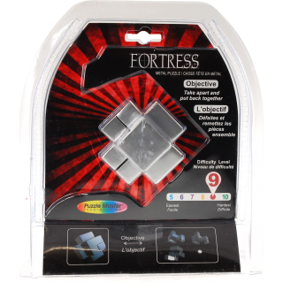 Metal Puzzle: Fortress Difficulty Level 9/10