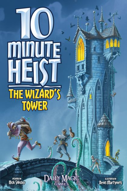 10 Minute Heist: The Wizard's Tower | Board Game Rental