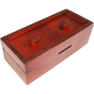 Secret box: Double Button Bank