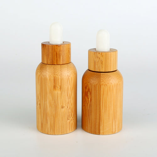 Bamboo Shell Essential Oil Bottle with Eye Dropper