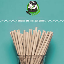 Load image into Gallery viewer, Bamboo Fiber Straws