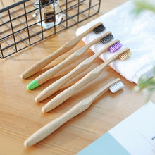 Load image into Gallery viewer, Panda Wholesale Bamboo Toothbrush Manufacturer Supplier Exporter 5