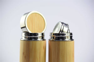 Bamboo Thermal Bottles