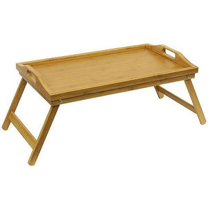 Bamboo Bed Tray with Folding Leg