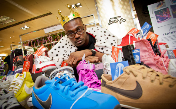 THE EDIT MAN LONDON INTERVIEWS FRANKLIN BOATENG AKA THE KING OF TRAINERS