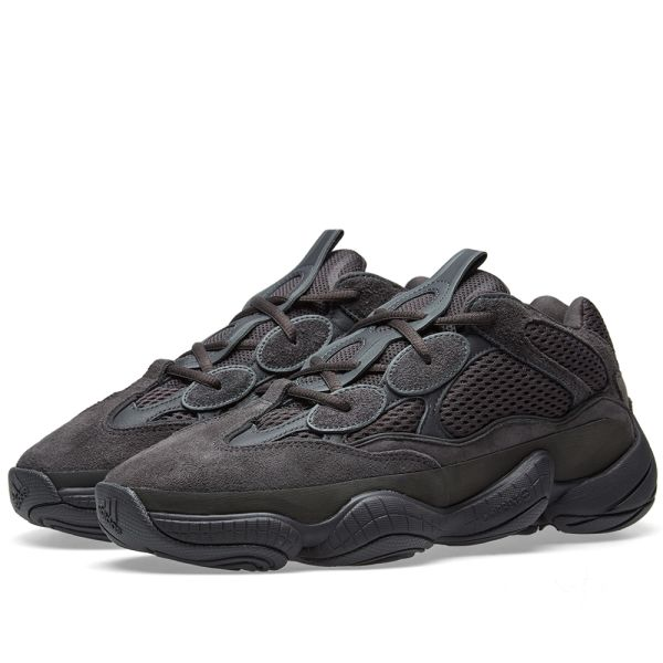 YEEZY BOOST 500 UTILITY BLACK - The Edit Man London Online