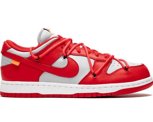 OFF WHITE DUNK LOW - UNIVERSITY RED - The Edit Man London Online