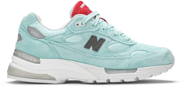NEW BALANCE 992 X KITHMAS TEAL - The Edit Man London