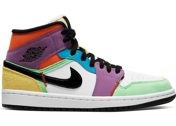 JORDAN 1 MID SE MULTICOLOR - The Edit Man London Online