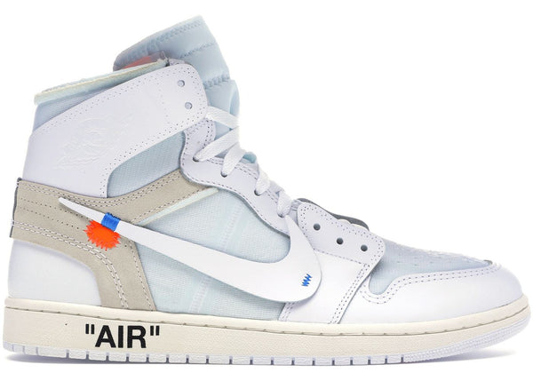JORDAN 1 HIGH OFF-WHITE WHITE - The Edit Man London Online