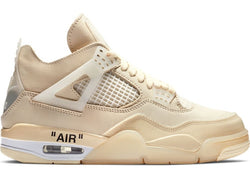OFF-WHITE X AIR JORDAN 4 SAIL - The Edit Man London Online