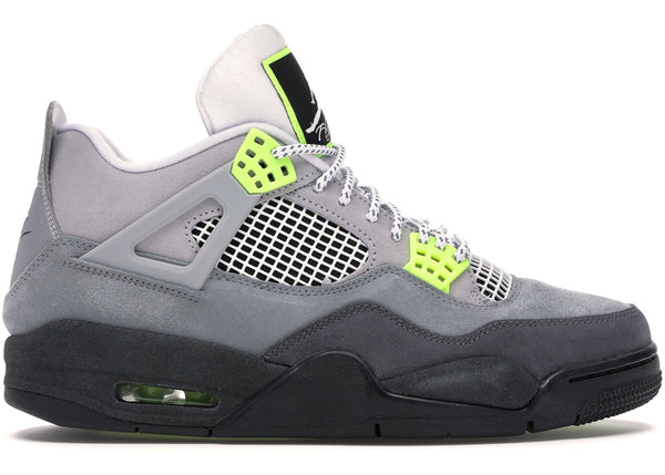 JORDAN 4 NEON - The Edit Man London Online