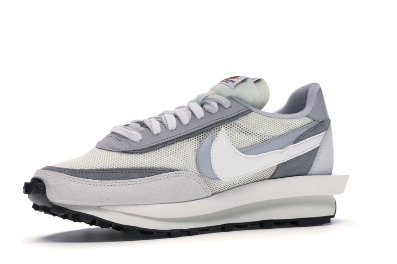 NIKE LD WAFFLE SACAI SUMMIT WHITE - The Edit Man London Online