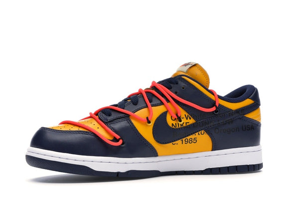 OFF WHITE SB DUNK YELLOW AND BLUE/MICHIGAN - The Edit Man London Online