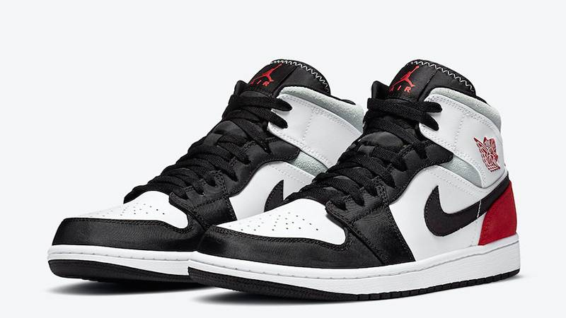 JORDAN 1 MID SE UNION BLACK TOE - The Edit Man London Online
