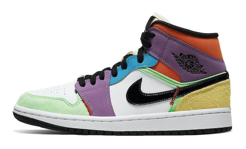 JORDAN 1 MID SE MULTICOLOR (W) - The Edit Man London Online