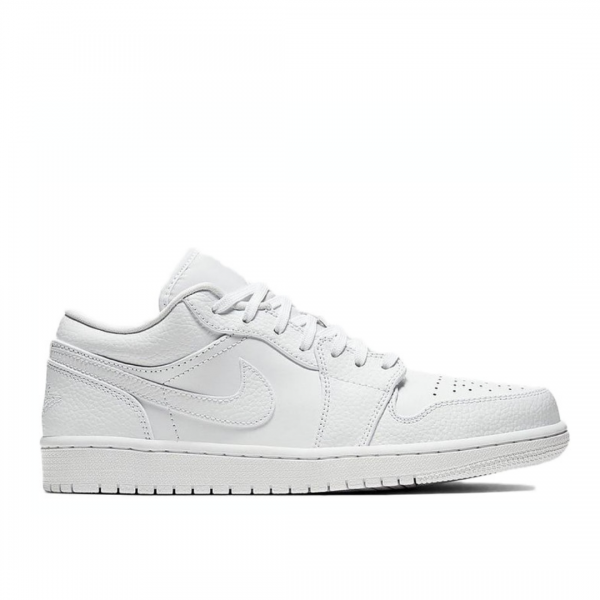 JORDAN AIR LOW WHITE - The Edit Man London Online
