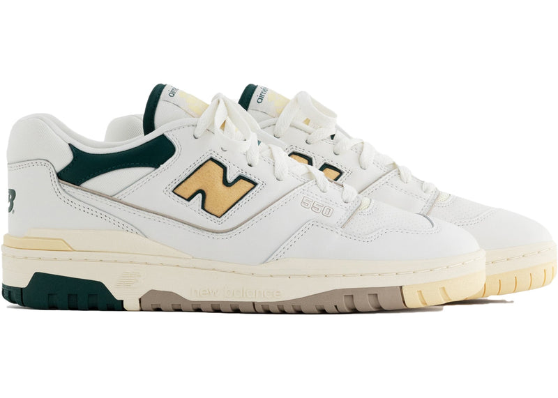 NEW BALANCE 550 AIME LEON DORE NATURAL GREEN - The Edit Man London