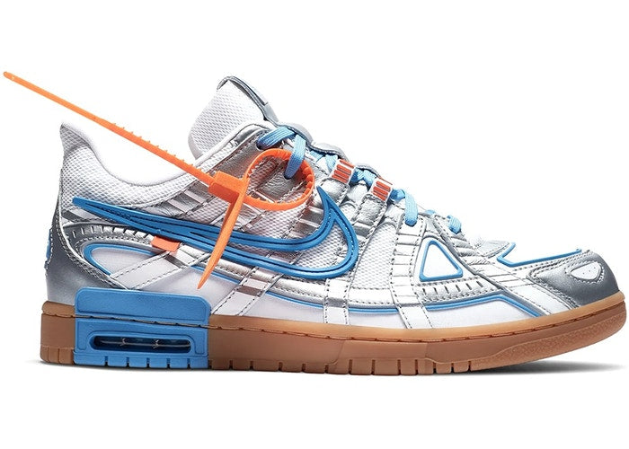 NIKE X OFF-WHITE AIR RUBBER DUNK UNC - The Edit Man London Online