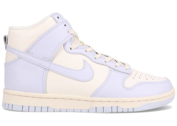 NIKE DUNK HIGH SAIL FOOTBALL GREY (W) - The Edit Man London Online
