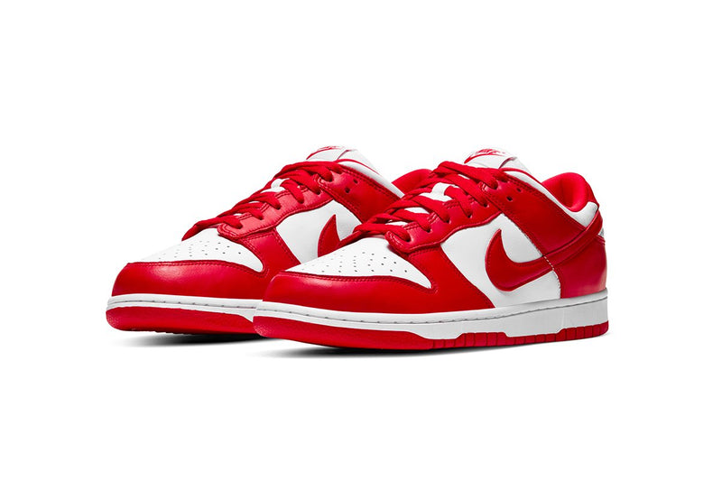 NIKE DUNK LOW UNIVERSITY RED - The Edit Man London Online