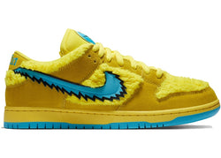 NIKE SB DUNK LOW GRATEFUL DEAD BEARS YELLOW - The Edit Man London Online