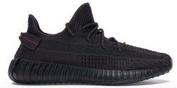 YEEZY 350 V2 STATIC BLACK ( NON REFLECTIVE) - The Edit Man London Online