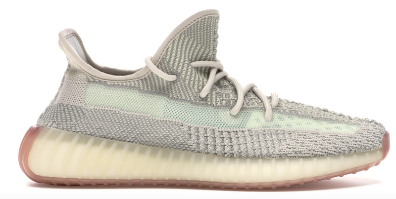 YEEZY BOOST 350 V2 CITRIN (NON-REFLECTIVE) - The Edit Man London Online