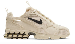 NIKE AIR ZOOM SPIRIDON CAGE 2 STUSSY FOSSIL - The Edit Man London Online
