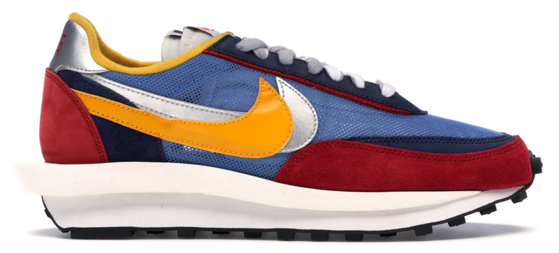 NIKE LD WAFFLE SACAI BLUE MULTI - The Edit Man London Online
