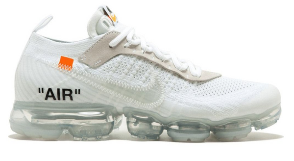 OFF-WHITE VAPORMAX 2.0 WHITE - The Edit Man London Online