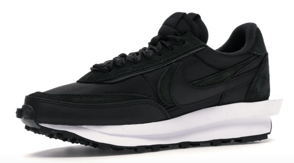 NIKE LD WAFFLE x SACAI  BLACK NYLON - The Edit Man London Online
