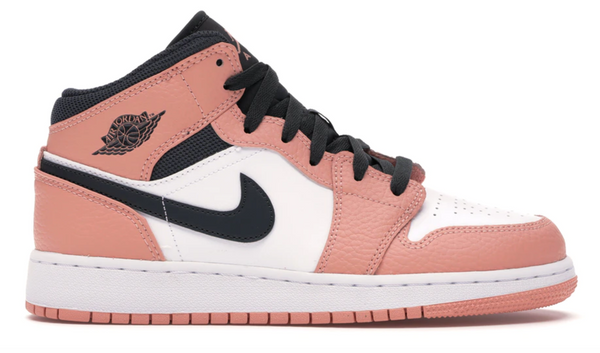 NIKE JORDAN 1 MID PINK QUARTZ - The Edit Man London Online