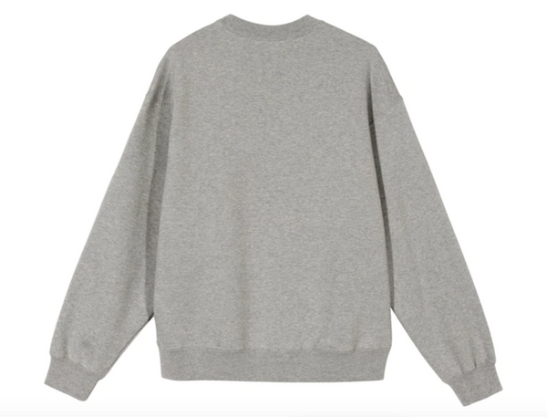 NIKE X STUSSY CREW FLEECE GREY - The Edit Man London Online