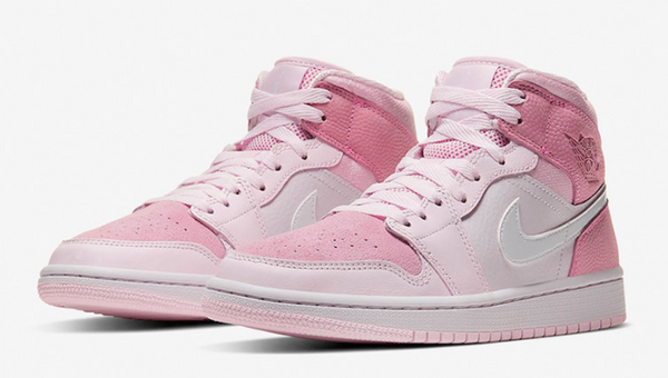 NIKE JORDAN 1 MID DIGITAL PINK (WOMENS) - The Edit Man London Online