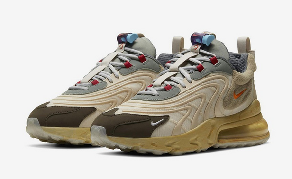 TRAVIS SCOTT NIKE AIR MAX 270 REACT - The Edit Man London Online