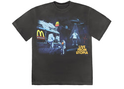 TRAVIS SCOTT X MCDONALD'S LIVE FROM UTOPIA TEE - The Edit Man London Online