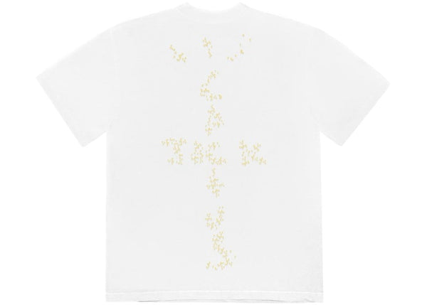 TRAVIS SCOTT X MCDONALD'S SESAME T-SHIRT WHITE - The Edit Man London Online