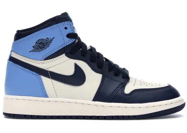JORDAN 1 LOW UNIVERSITY BLUE BLACK - The Edit Man London Online