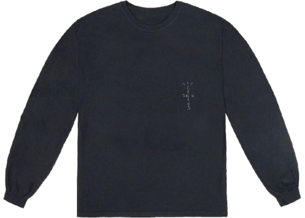 TRAVIS SCOTT CRACKED LONG SLEEVE T-SHIRT - The Edit Man London Online