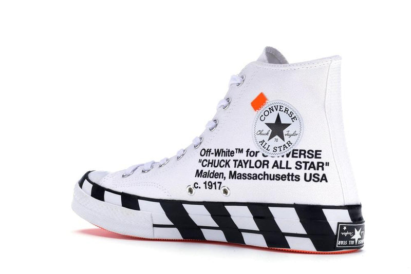 OFF-WHITE X CONVERSE CHUCK TAYLOR ALL STARS HI - The Edit Man London Online