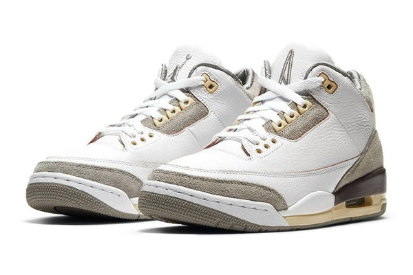 A MA MANIERE X JORDAN 3 WHITE - The Edit Man London