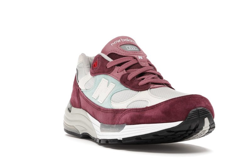 NEW BALANCE 992 X KITHMAS BURGANDY - The Edit Man London