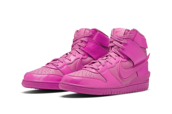 NIKE DUNK HIGH AMBUSH COSMIC FUCHSIA - The Edit Man London Online
