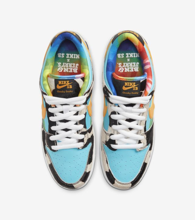 NIKE SB DUNK LOW BEN & JERRY'S CHUNKY DUNKY - The Edit Man London Online