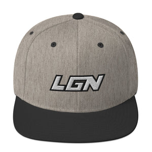 Legion Text Snapback Hat