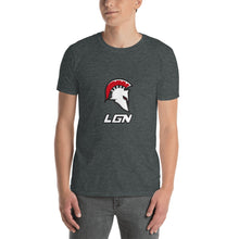 Load image into Gallery viewer, Legion Helm & Text Short-Sleeve Unisex T-Shirt