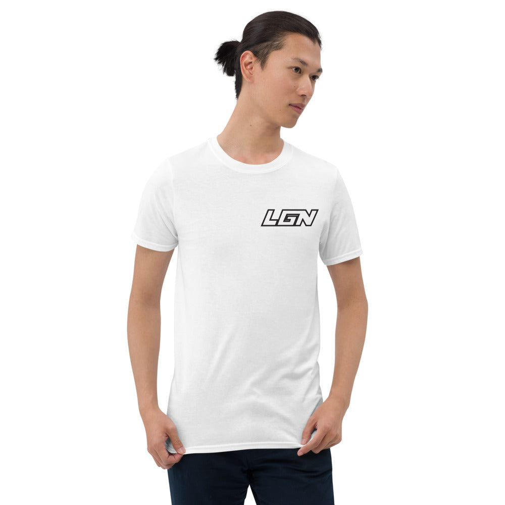 Legion text Badge Short-Sleeve Unisex T-Shirt